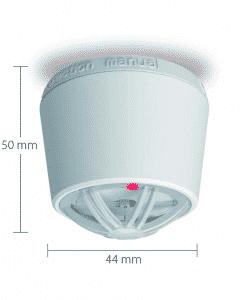 Blaupunkt Stand-Alone Hitzemelder ISD-SD1 mit Maßen